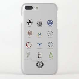 The 100 - 13 Clans Clear iPhone Case