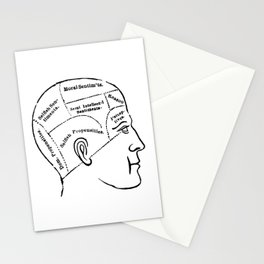 Human mind Stationery Cards