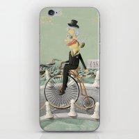 gentleman iPhone & iPod Skins featuring Gentleman by Cacho de Colegiales