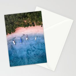 Aerial: El Nido Beach Stationery Cards