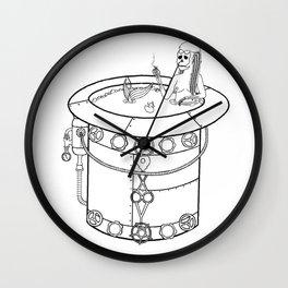 Dead Mermaid Wall Clock