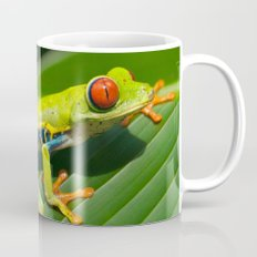 Green Tree Frog Red-Eyed Mug