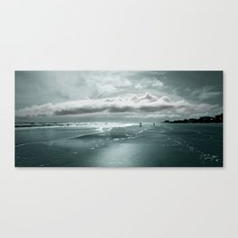 Be Free - Daytona Beach Landscape Canvas Print