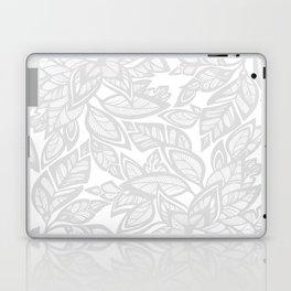 Let Love Grow - gray/white Laptop & iPad Skin