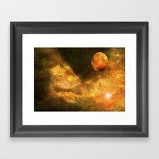 New Universe. Framed Art Print