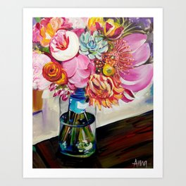 Everlasting Bouquet Art Print