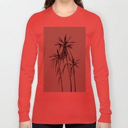 Palm Trees - Mint Cali Summer Vibes #1 #decor #art #society6 Long Sleeve T-shirt