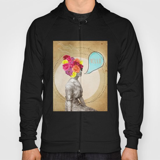 Collage Love - Miss Lady Bird Hoody