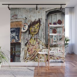 expression Wall Mural