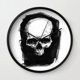Skull Ink 1 Wall Clock