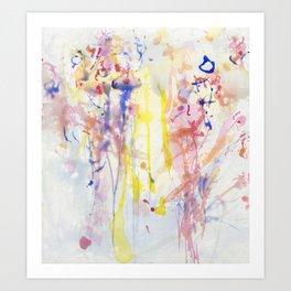 Wading Through (Tenderness) Art Print