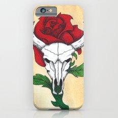 Skull and Rose Slim Case iPhone 6s