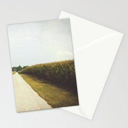 Indiana Corn Field Summers Stationery Cards