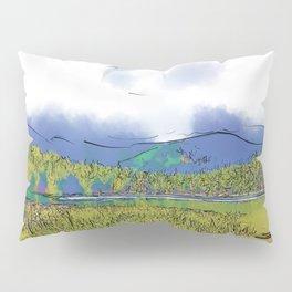 Mountain Meadow Lake Pillow Sham