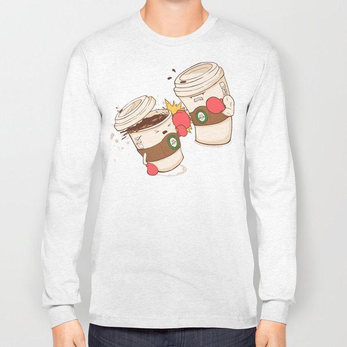 Strong Coffee Long Sleeve T-shirt