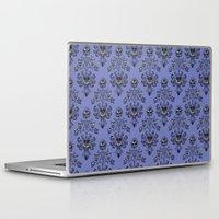 haunted mansion Laptop & iPad Skins featuring Phantom Manor - Haunted Mansion by Katikut