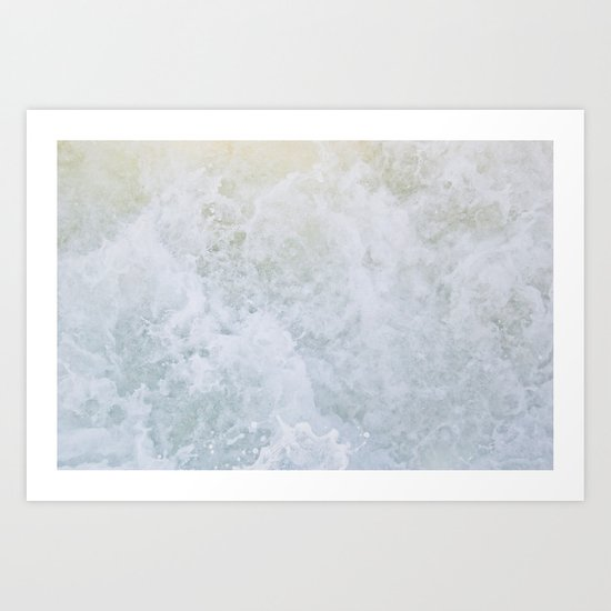 Acqua Nebulae 2 Art Print
