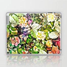 Scattered Blooms And Verdure Laptop & iPad Skin