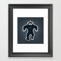 Triclops Framed Art Print