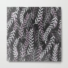 Leafage Metal Print