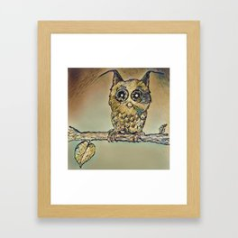 Golden sweet Framed Art Print