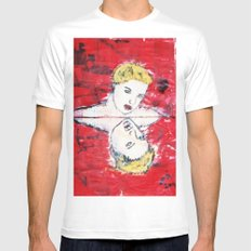 VAMPIRIC REFLECTIONS White SMALL Mens Fitted Tee