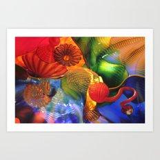 persian sky #1 Art Print