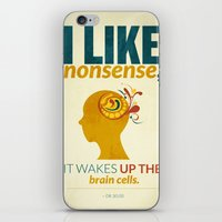 dr seuss iPhone & iPod Skins featuring Dr. Seuss by Kongoriver