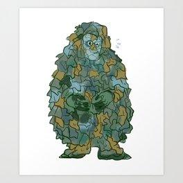 Mr. Susan Art Print