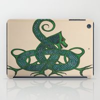 celtic iPad Cases featuring Celtic Dragon by Erin Malbuisson-Delaney