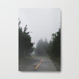 Misty Mysterious Metal Print