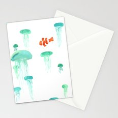 Sea of Jellies Stationery Cards