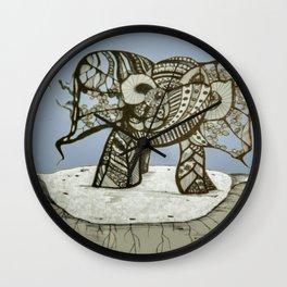 an elephant Wall Clock