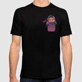 Pocket attack hacker T-shirt