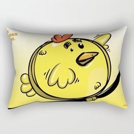 THE CHICKEN BALLON... Rectangular Pillow