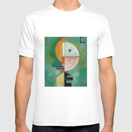 Kandinsky Upward Abstract Art Painting T-shirt