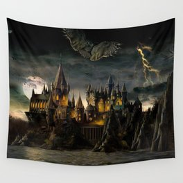 Hogwarts Night Wall Tapestry
