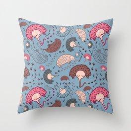Echidna Adventures Throw Pillow