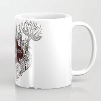 marauders Mugs featuring MARAUDERS MAP by ThreeBoys