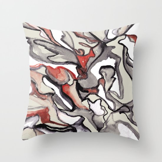 Apple of Discord Throw Pillow