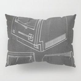 Apple Macintosh Patent - Apple Art - Black Chalkboard Pillow Sham