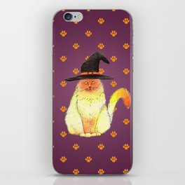 Halloween Cat iPhone Skin