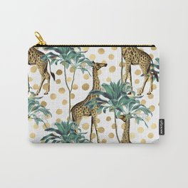 Giraffe Safari Carry-All Pouch
