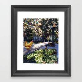 Clinton Street Framed Art Print