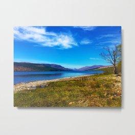 View over Loch Arkaig Metal Print