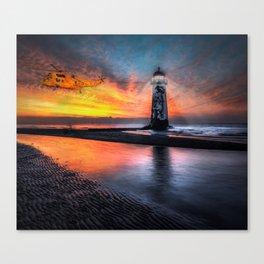 Lighthouse Rescue Canvas Print