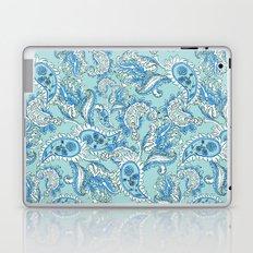 Blue Paisley Laptop & iPad Skin