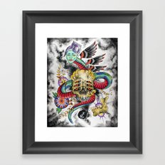 Guarding the Visions Framed Art Print