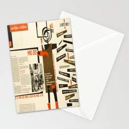 occhio critico mio zio jacques tati vintage Poster Stationery Cards