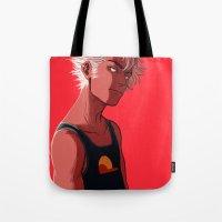 homestuck Tote Bags featuring di-stri by dacadaca